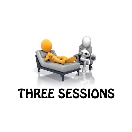 Three psychological treatment sessions