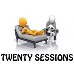 Twenty treatment sessions