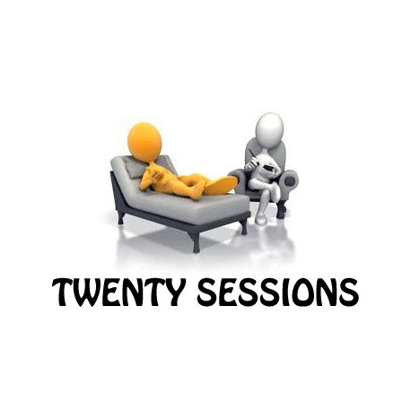 Twenty psychological treatment sessions